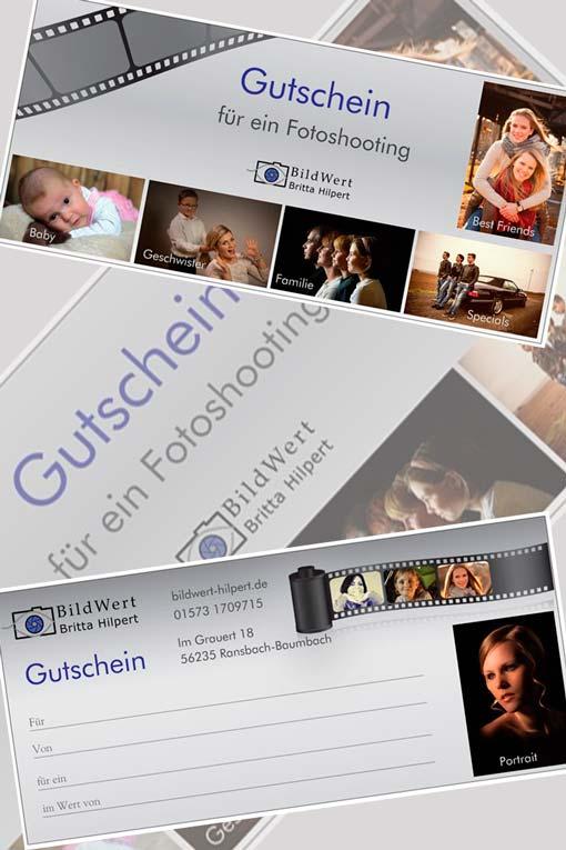 Gutschein Fotoshooting Ransbach-Baumbach Bildwert Hilpert