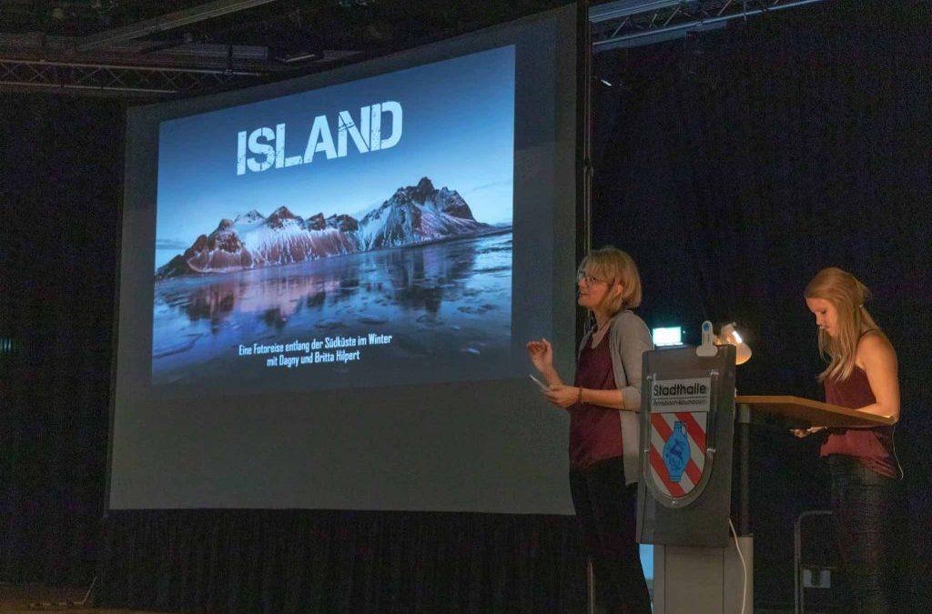 Knapp 300 Interessierte kamen zur Multimediashow über Island