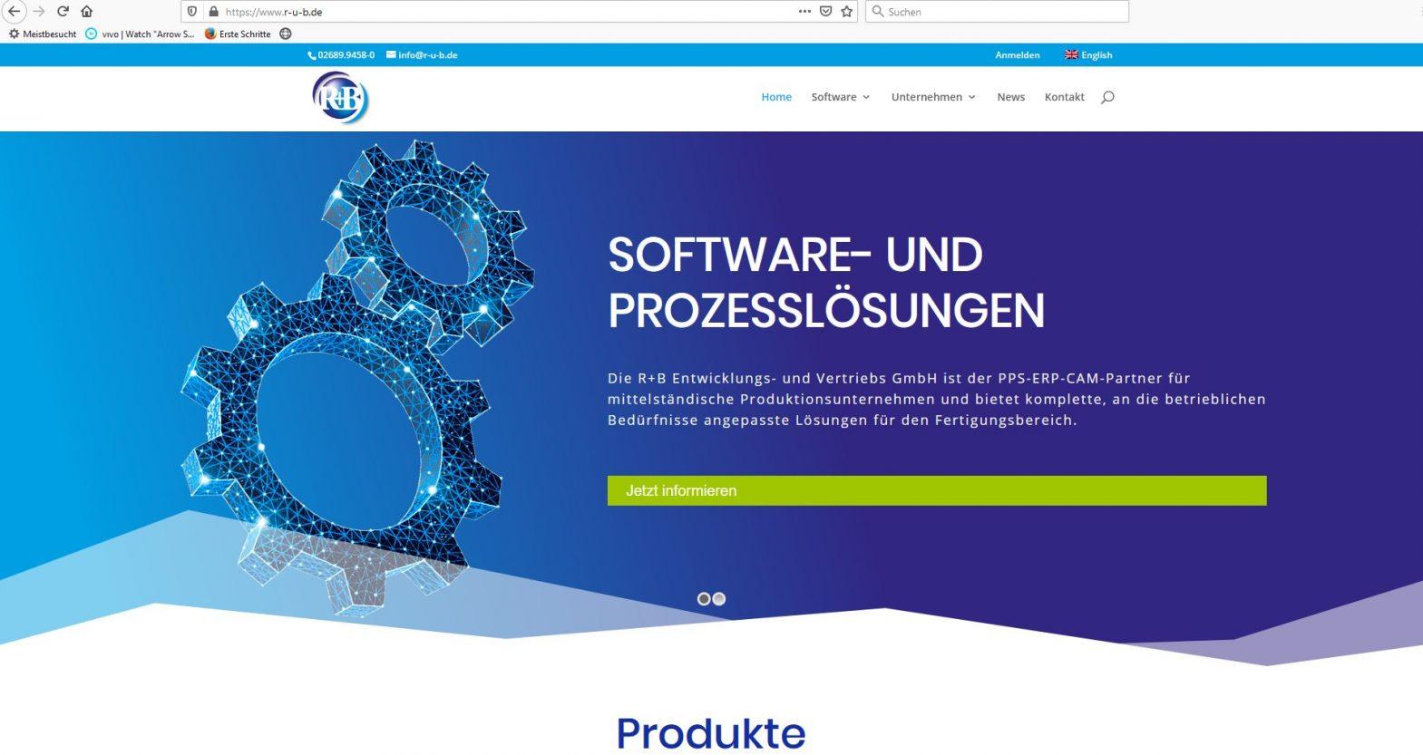 Webdesign Softwarefirma