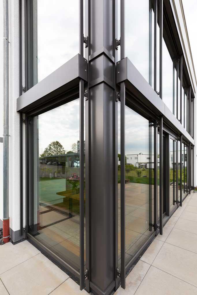 Moderne Architekturfotografie Fenster