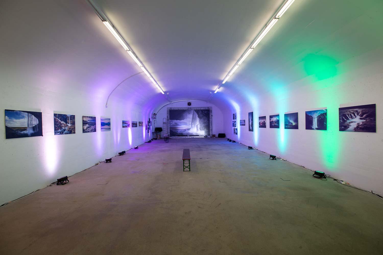 Ausstellung Fotografie Island im Winter im Bunker b-05 Montabaur