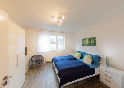 Fotografie für Tourismus: Ferienwohnung Schlafzimmer