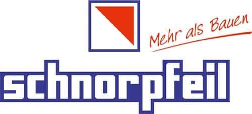logo schnorpfeil bau