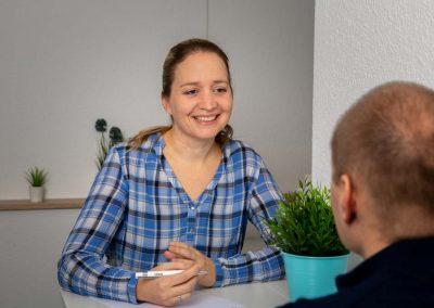 Besprechung bei Osteopathie Hein in Ransbach-Baumbach