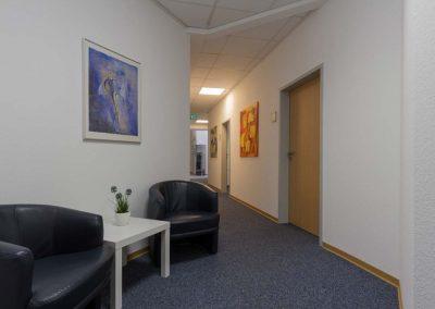 Wartebereich bei Osteopathie Ransbach-Baumbach