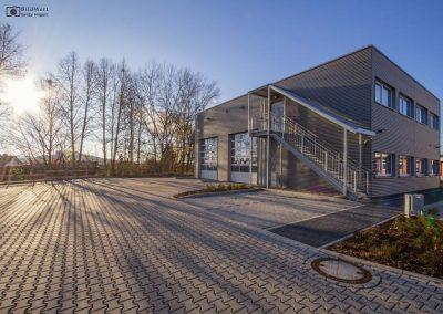 Fotografie für Werbung: Containergebäude
