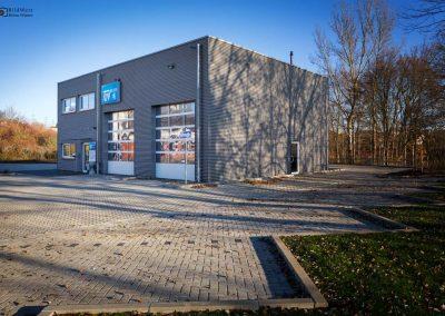 Fotografie für Werbung: Containergebäude Architektur