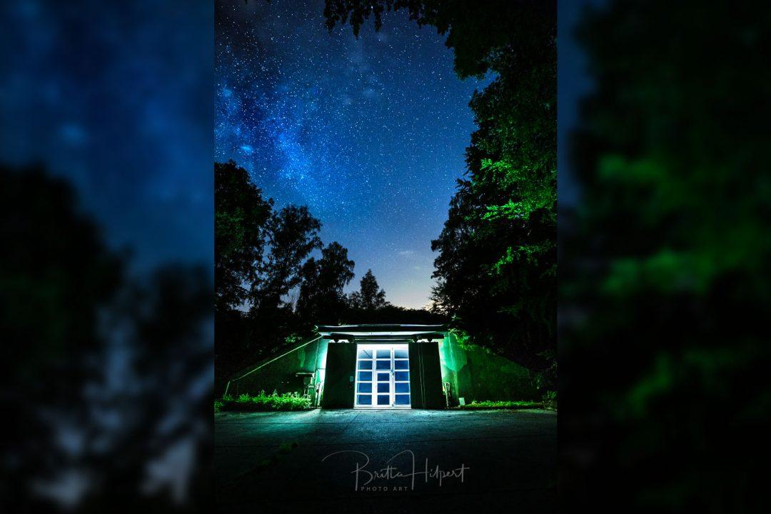 Workshop Nachtfotografie: Bunker unterm Sternenhimmel.