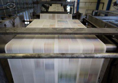 Industriefotografie Druckhaus Zeitungsverlag Firmenportrait Fotografie