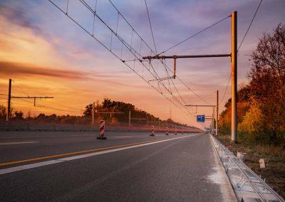 Industriefotografie Technik im Straßenbau