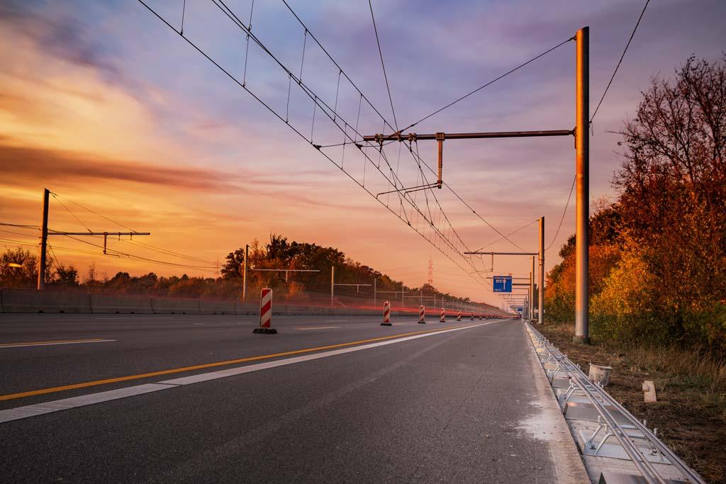 Industriefotografie: die Natur malt das Licht.