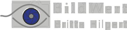 Logo BildWert Britta Hilpert Fotografie