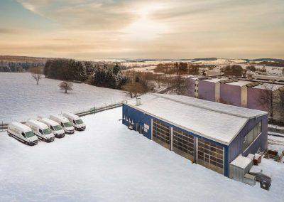 Industriefotografie Fotografie Leitungsbau Horizontalbohrungen Luftaufnahmen