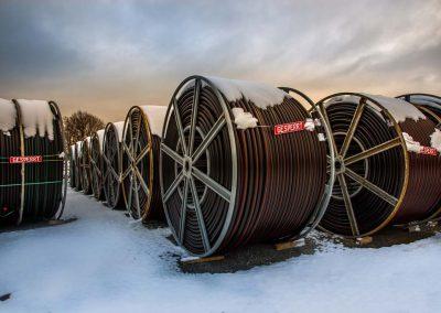 Industriefotografie Fotografie Leitungsbau Horizontalbohrungen