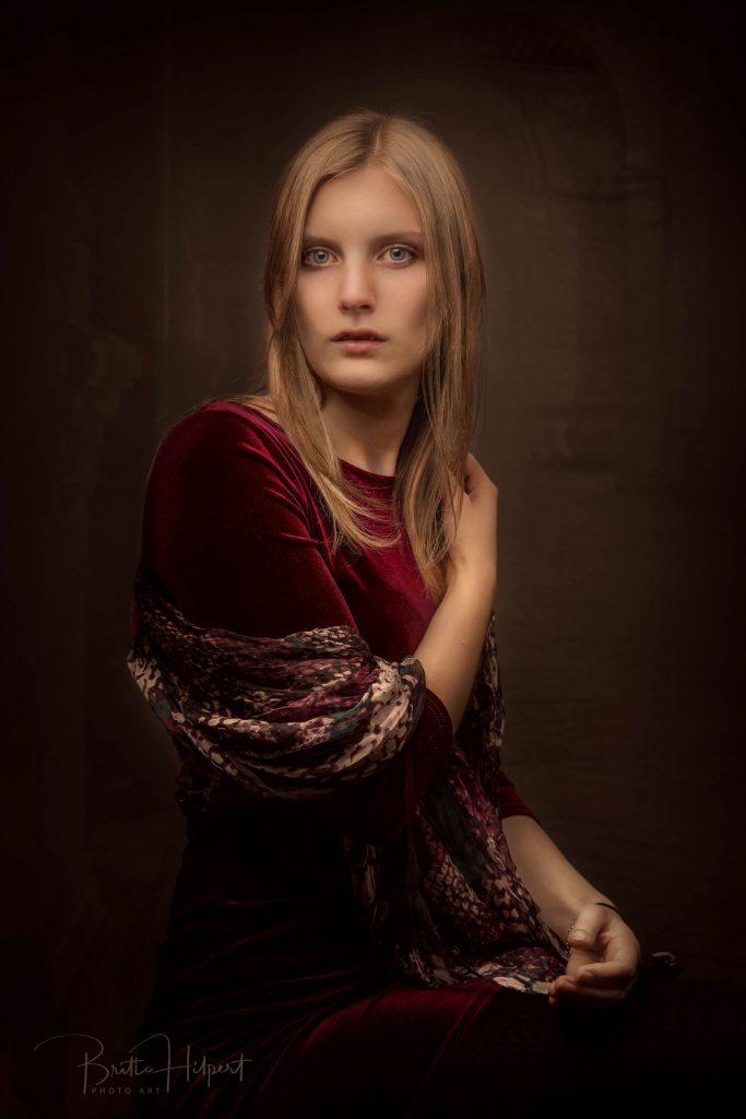 Zeitlose Portraits - gemäldeartige Fotos im  Fotostudio Ransbach-Baumbach Bildwert Hilpert